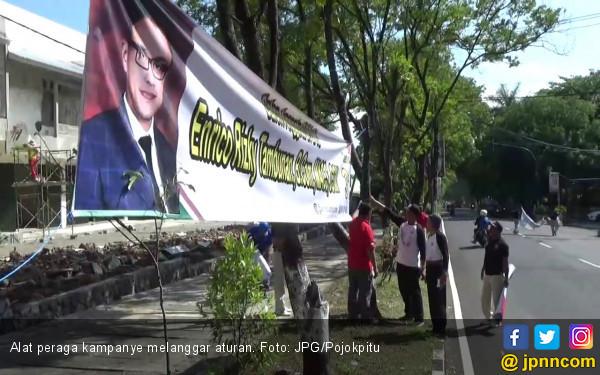 APK Caleg dari Partai Ini Paling Banyak Melanggar - JPNN.COM