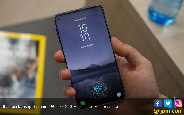 Samsung Galaxy S10 Plus Dapat Sertifikasi - JPNN.COM