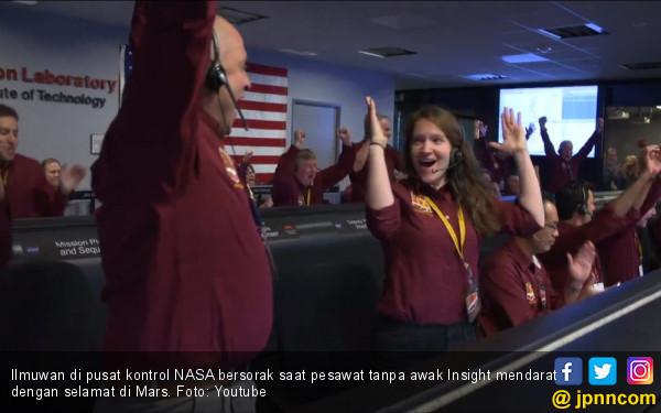 NASA Kembali Mendarat di Mars, Targetkan 2030 Kirim Manusia - JPNN.com