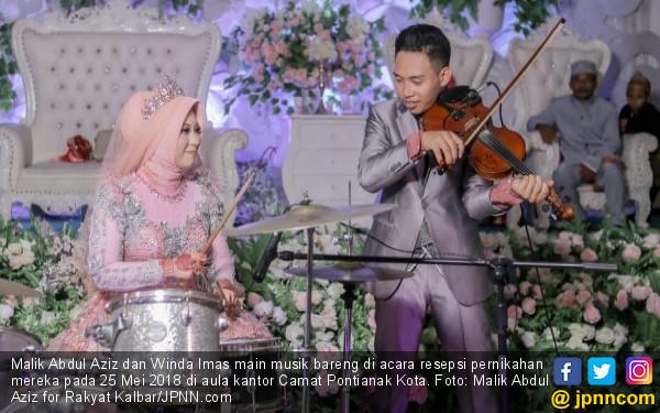 Tentang Video Resepsi Pernikahan Malik - Winda yang Viral - JPNN.COM
