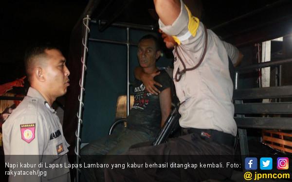 Lapas Lambaro Banda Aceh Dijebol, Ratusan Napi Kabur - JPNN.COM