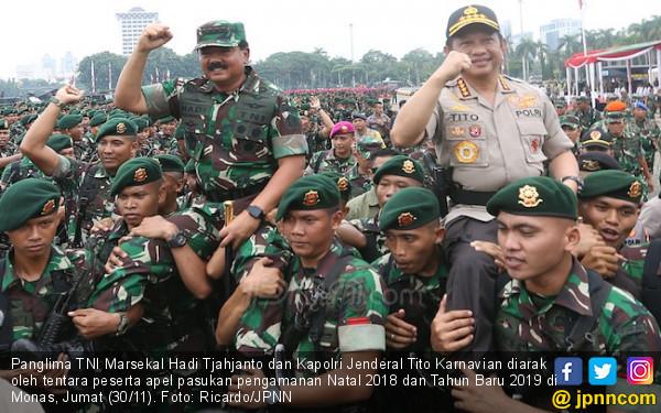 Kapolri Kaget Panglima TNI Kerahkan 43 Ribu Tentara di Monas