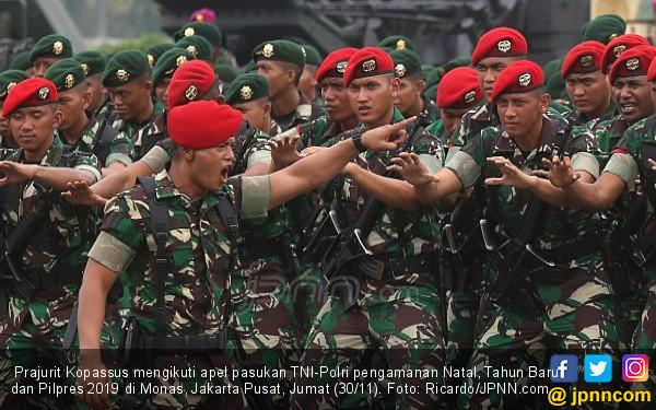 Seribu Lebih Personel Polri-TNI Jaga Bali, Siap Tembak yang Melawan - JPNN.com