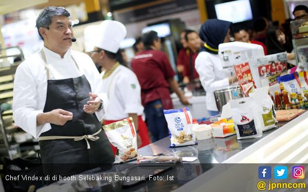 Chef Vindex Dapat Kejutan Ultah di Selebaking - JPNN.COM