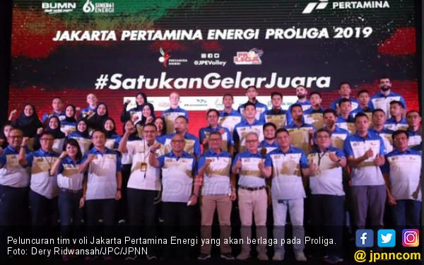 Strategi Pertamina Energi Kawinkan Gelar Juara Proliga - JPNN.COM