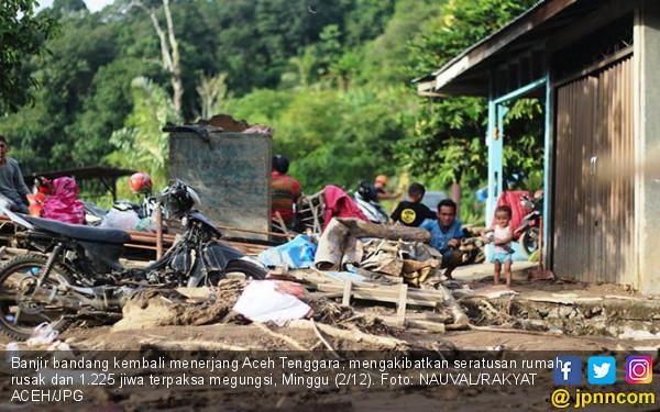 Banjir Bandang Kembali Melanda Agara, 1.225 Warga Mengungsi - JPNN.COM