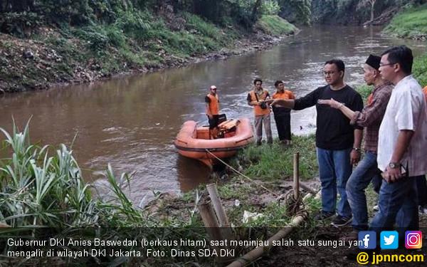 DKI Upayakan Naturalisasi Sungai demi Pulihkan Ekosistem - JPNN.COM