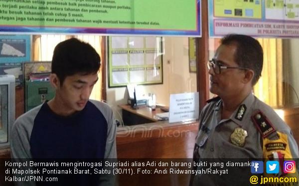 Adi Mengaku Polisi, Cegat Pengendara Sepeda Motor - JPNN.COM