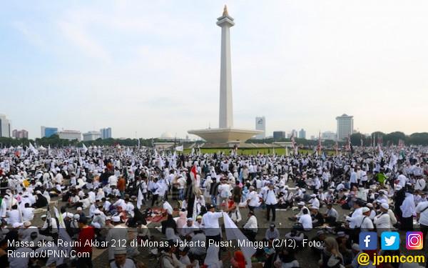 Pujian Bang Emrus untuk Kesuksesan Reuni Akbar 212 di Monas - JPNN.com