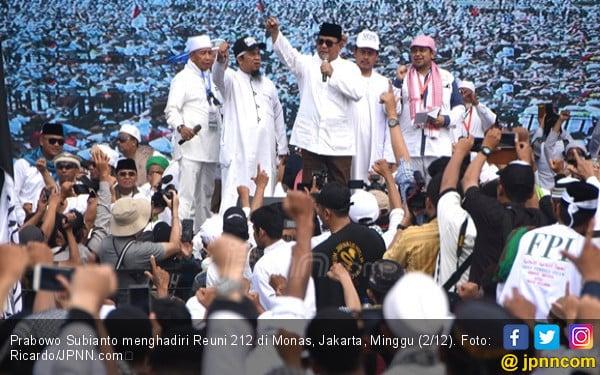 Prabowo Subianto Bakal Datang ke Reuni 212? - JPNN.com