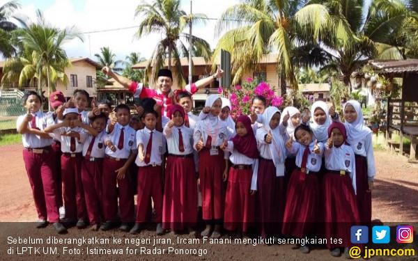 Kisah Mengharukan Ircam Fanani Bisa Berangkat ke Sabah - JPNN.COM
