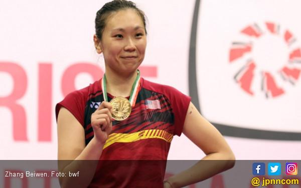 Dapat Durian Runtuh, Zhang Beiwen Gantikan Carolina Marin - JPNN.COM