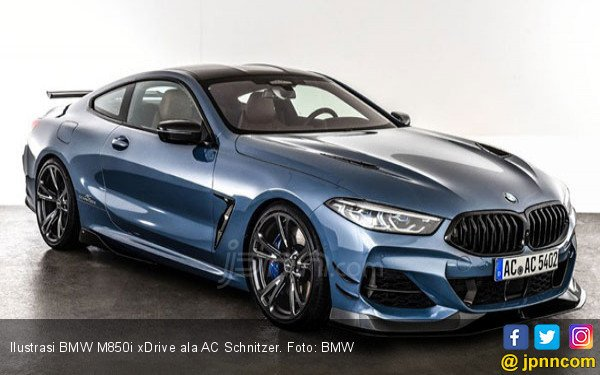 Paket Modifikasi BMW M850i xDrive, Gahar! - JPNN.COM