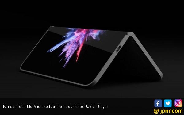 Microsoft Ikut Siapkan Smartphone Lipat - JPNN.COM