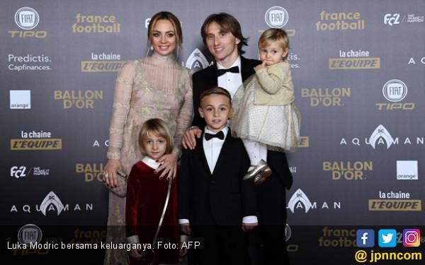 Peraih Ballon d'Or Sejak 1956, Luka Modric Kroasia Pertama - JPNN.COM