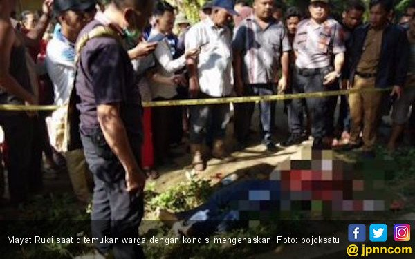 Rudi Tewas Bersimbah Darah Dibunuh Selingkuhan Istrinya - JPNN.COM