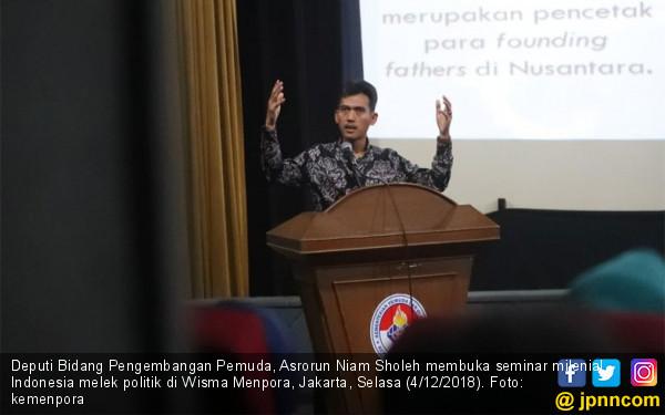 Kemenpora Gelar Seminar Milenial Agar Pemuda Melek Politik - JPNN.COM