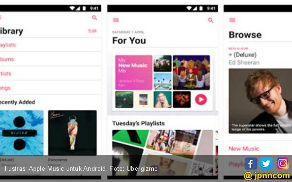 Apple Music Mulai Uji Coba ke Perangkat Android - JPNN.COM