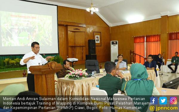 Menteri Amran Dorong BEM Aktif Sukseskan Program Pertanian - JPNN.COM