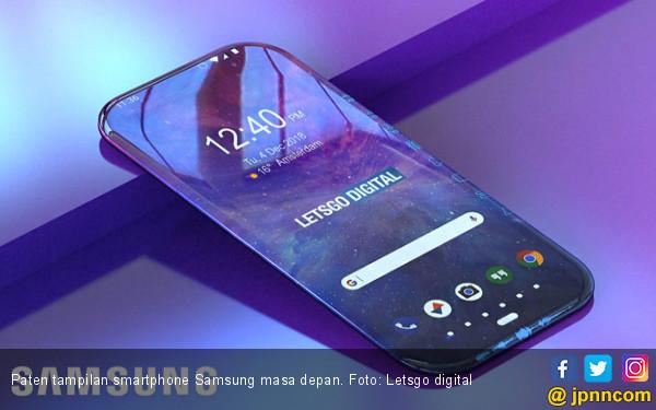 Membaca Tampilan Ponsel Samsung Masa Depan - JPNN.COM
