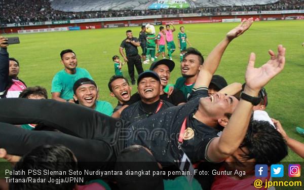 Kisah Sedih di Balik Kesuksesan Seto Bawa PSS ke Liga 1 2019 - JPNN.COM