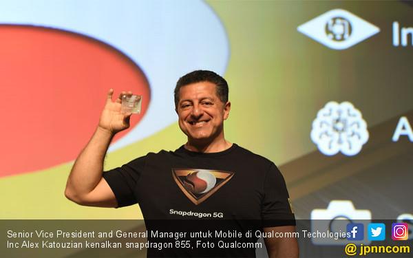 Qualcomm Kenalkan Prosesor Snapdragon 855 Sudah 5G - JPNN.COM