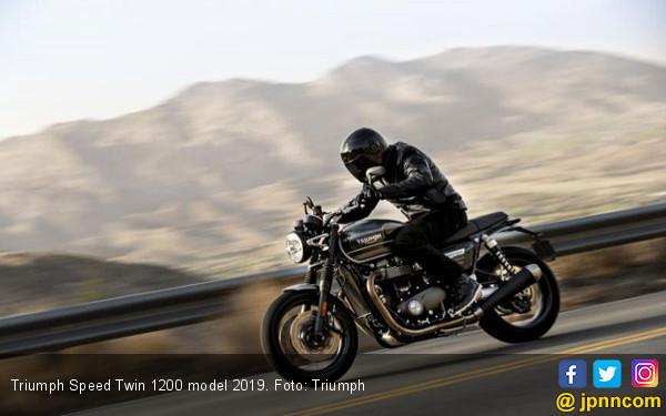 Naik Level, Triumph Sediakan Speed Twin 1200 Teranyar - JPNN.COM