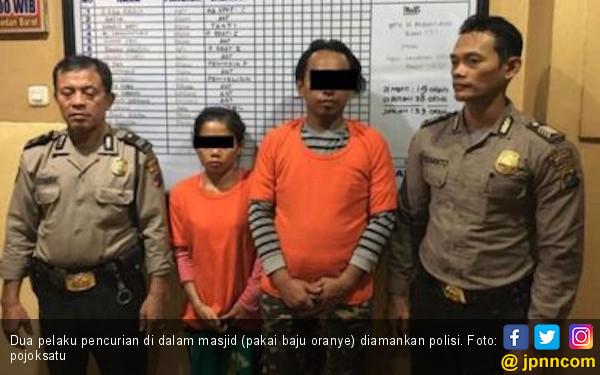 Pasutri Sering Mencuri di Masjid, Sang Suami Ditembak Polisi - JPNN.com