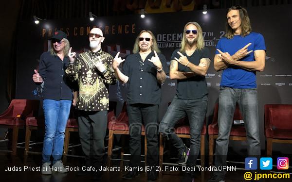 Promotor Sediakan Harley Davidson untuk Judas Priest - JPNN.COM