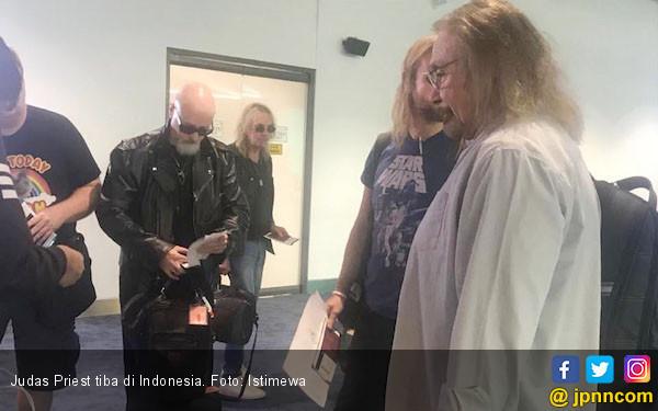 Judas Priest Senang Bisa Datang ke Indonesia - JPNN.COM