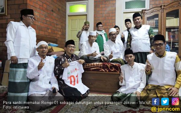 Santri Diajak Door to Door untuk Menangkan Jokowi - Ma'ruf - JPNN.COM