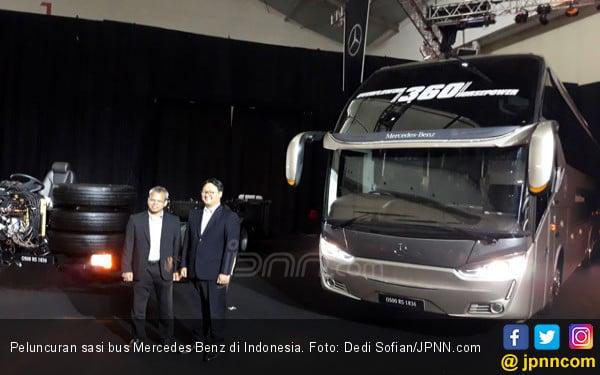 Daimler Rilis Dua Sasis Bus Mercedes Benz Baru di Indonesia - JPNN.COM