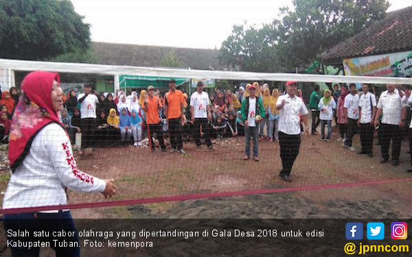 Kemenpora Jaring Bibit Atlet dari Ajang Gala Desa di Tuban - JPNN.COM