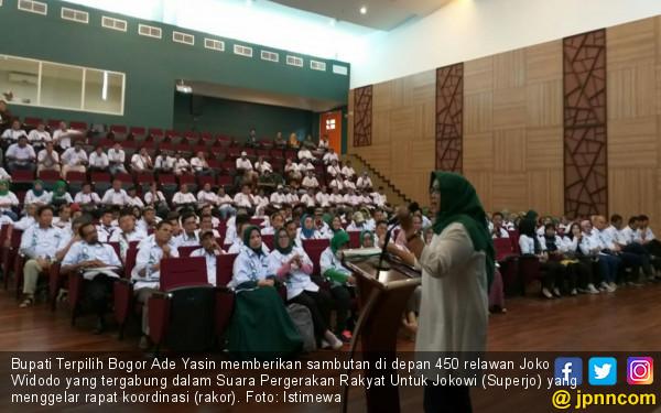 All Out Dukung Jokowi, Superjo Hindari Ujaran Kebencian - JPNN.COM