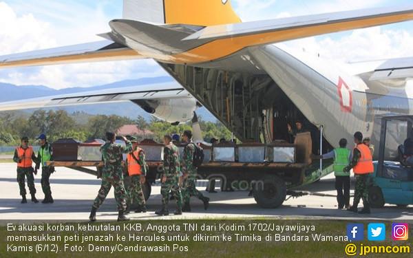 KKB Serang TNI - Polri dari Bukit Kabo, Baku Tembak - JPNN.COM