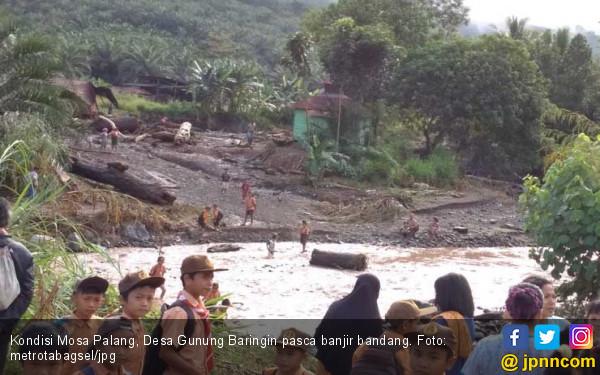 Basarnas Hentikan Pencarian Korban Banjir Bandang di Tapsel - JPNN.COM
