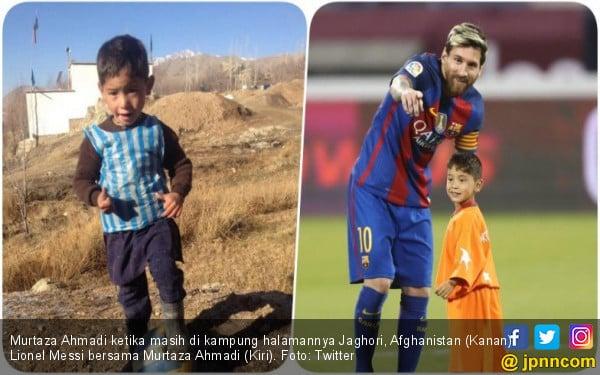 Gara-Gara Messi, Bocah Afghanistan Ini Diburu Taliban - JPNN.COM