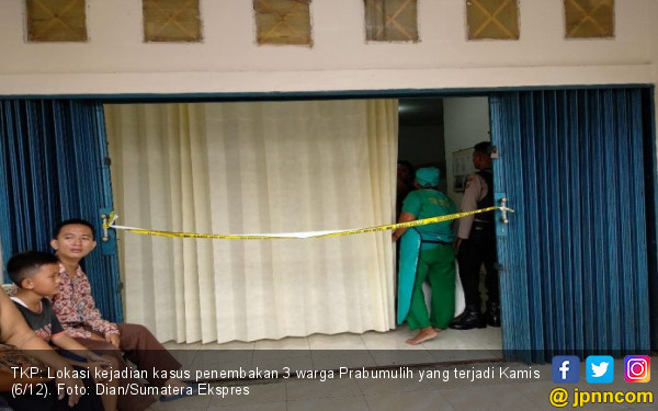 Pembunuhan Sadis, 3 Orang Tewas dengan Luka Tembak di Kepala - JPNN.COM