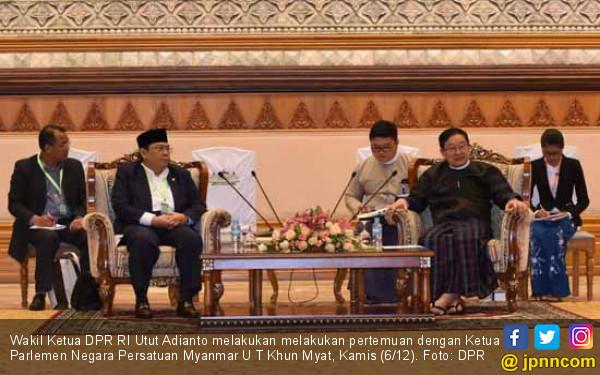 DPR RI dan Parlemen Myanmar Sepakat Bentuk GKSB - JPNN.COM