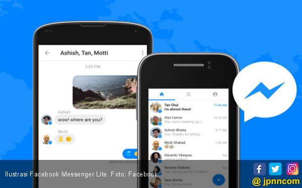 Facebook Messenger Lite Kini Lebih Kaya Fitur - JPNN.COM