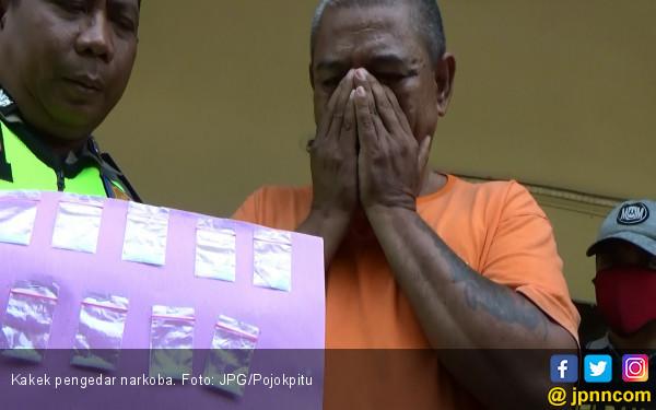 Dua Kali Tertangkap Kasus Narkoba, Kakek Tak Kapok - JPNN.COM