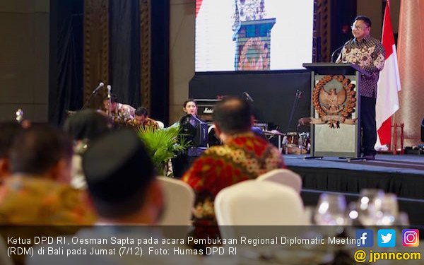 DPD RI Dorong Invetasi ke Daerah Lewat Forum RDM di Bali - JPNN.COM