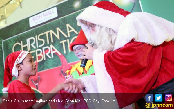 Bertemu Santa Claus Hingga Konser Musik di AEON Mal - JPNN.COM