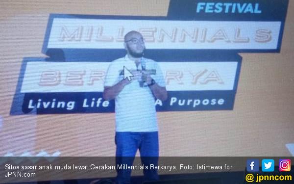 Gerakan Millennials Berkarya ala Sitos, Sasar Anak Muda - JPNN.COM