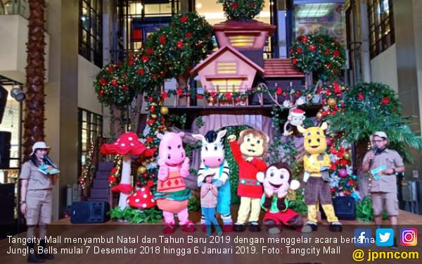 Yuk, Nikmati Jungle Bells Jelang Natal di Tangcity Mall - JPNN.COM