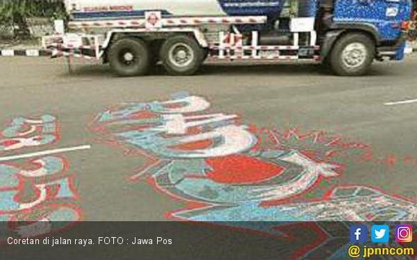 Polisi Kejar Pelaku Vandalisme - JPNN.COM
