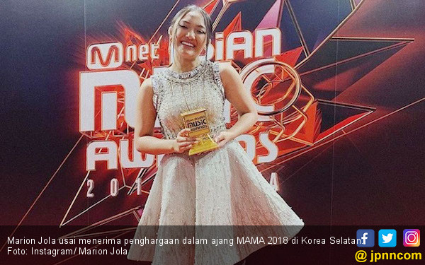 Selamat! Marion Jola Boyong Piala Mama 2018 - JPNN.COM