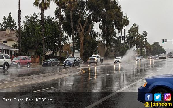 Badai Hebat Porak-poranda Bagian Selatan Amerika Serikat