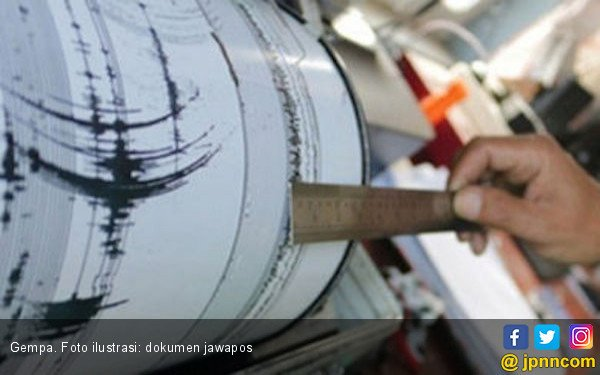 Gempa Potensi Tsunami, Tim Ekspedisi Selamatkan Diri ke Bukit - JPNN.com