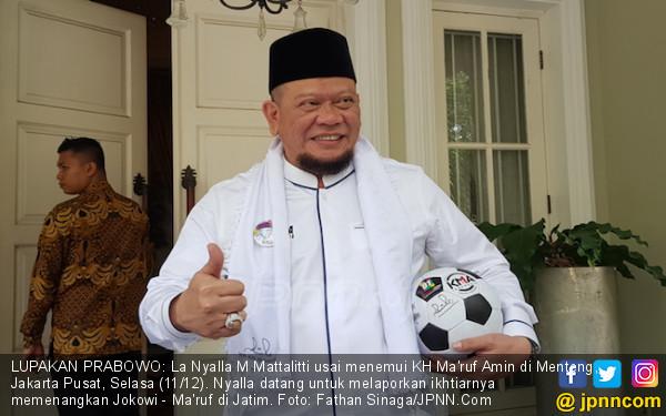Jokowi dan La Nyalla Untung, Prabowo - Sandi Terseok-Seok - JPNN.COM